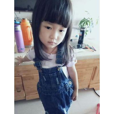 Yếm bò thời trang bé gái. ngắn