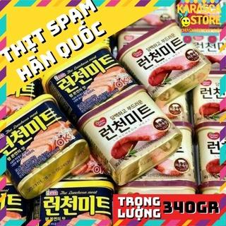 [Mã 229FMCGSALE giảm 8% đơn 500K] Thịt Hộp Spam Hàn Quốc 340gr