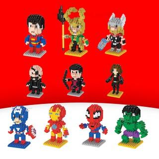 (hàng có sẵn) đồ chơi lắp ráp lego hình avengers