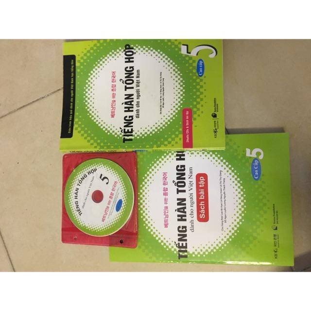 Sách - Tiếng Hàn Tổng hợp dành cho người Việt nam Tập 5 kèm sách +bài tập + CD - 3501640 , 1142865212 , 322_1142865212 , 158000 , Sach-Tieng-Han-Tong-hop-danh-cho-nguoi-Viet-nam-Tap-5-kem-sach-bai-tap-CD-322_1142865212 , shopee.vn , Sách - Tiếng Hàn Tổng hợp dành cho người Việt nam Tập 5 kèm sách +bài tập + CD