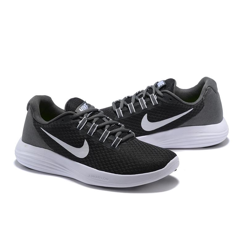 2019 New arrival NIKE_Lunar Converge Running Shoes Soft Lightweight Sport Sneakers