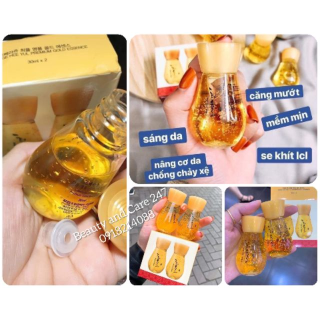 Tinh chất vàng cấp collagen _ set 2 chai