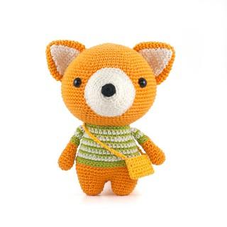 Đồ chơi cao cấp ♥️ LEN CAO CẤP ♥️ Cáo vàng, Gấu bông handmade