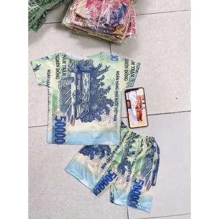 Bộ quần áo mùa hè cho nam chất liệu thun co dãn