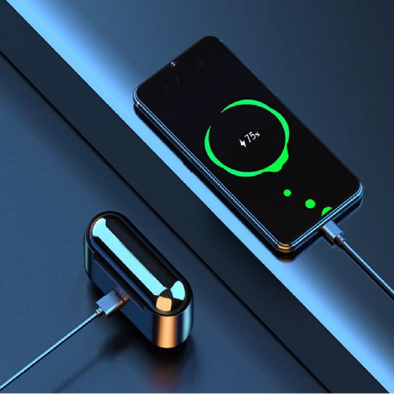 [Free Ship] Tai nghe bluetooth không dây F9 TWS cảm ứng điều khiển cảm biến âm thanh HIFI cho Android iOS , Alex cool