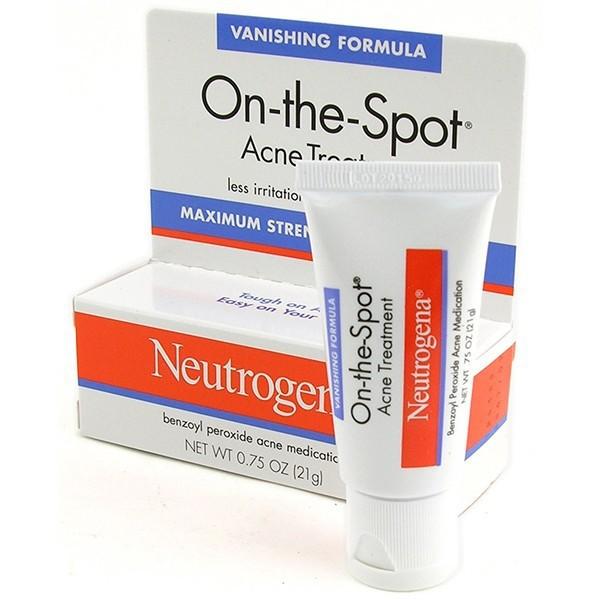 Kem Trị Mụn Neutrogena On-The-Spot Acne Treatment 21gr Hàng Mỹ xách tay