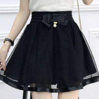 Chân váy tutu lưới dáng ngắn, lỡ (ảnh thật)