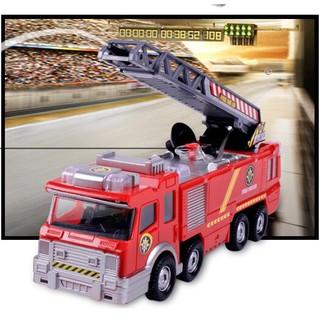 xe cứu hỏa phun nươc