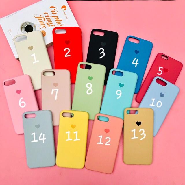 Ốp chống bẩn tim full viền cho iphone 6-6s-6plus-6splus