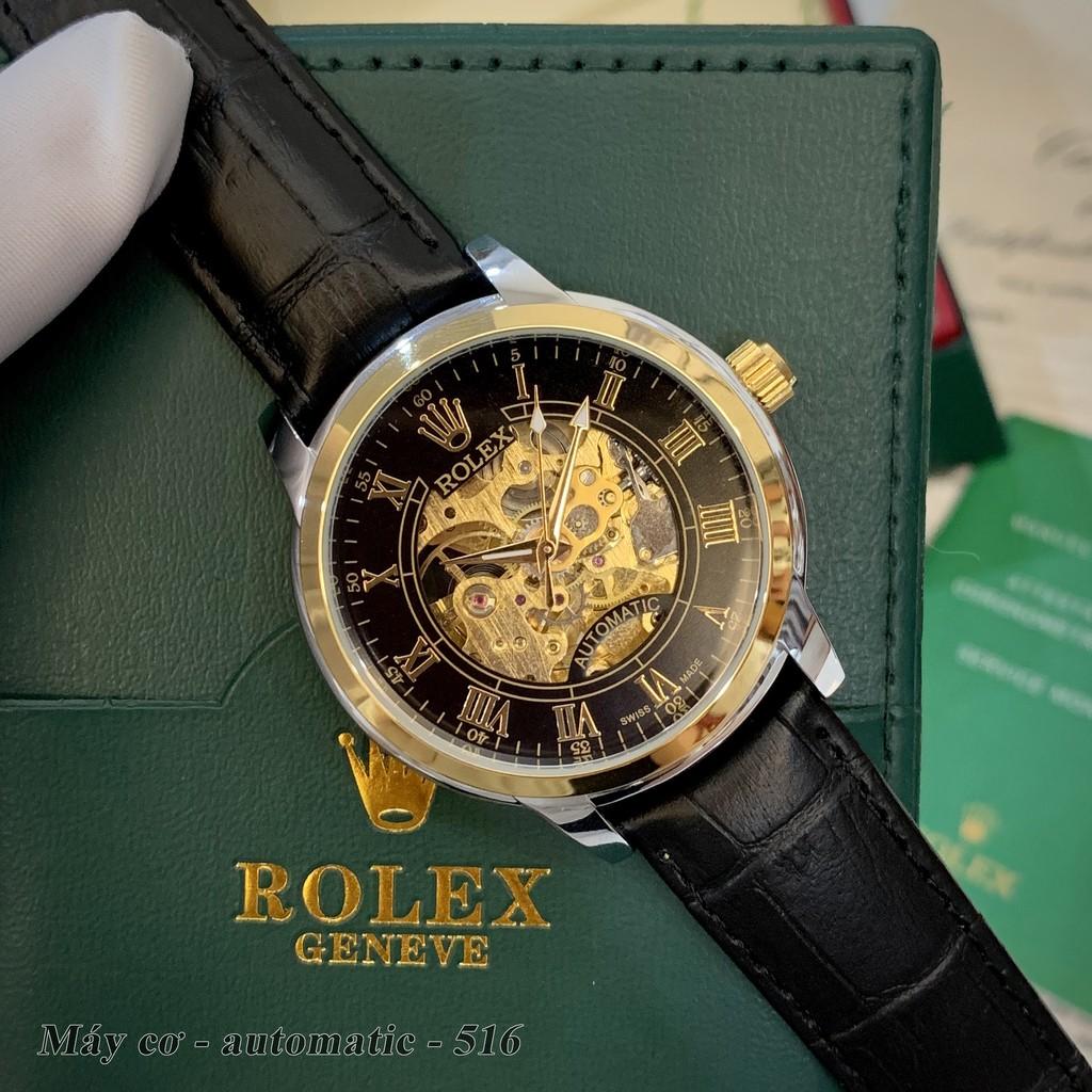 Đồng hồ nam Ro máy cơ - mặt 42 mm hàng cao cấp Rol_collections - bảo hành 12th