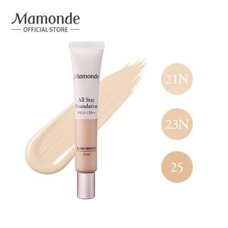 Kem nền che khuyết điểm lâu trôi Mamonde All Stay Foundation SPF 25 PA ++ 20ml thumbnail