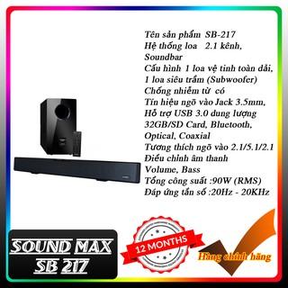 Loa Soundbar Soundmax SB 217 (hàng chính hãng)