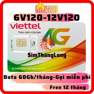 ⛔️𝙎𝙞𝙚̂𝙪 𝙐̛𝙪 Đ𝙖̃𝙞⛔️ Sim 4G Viettel V120 Miễn Phí Cả Năm -Tặng 2Gb/Ngày – Miễn Phí Gọi -Không Cần Nạp Tiền Duy Trì