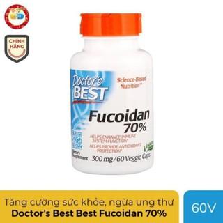 Doctor's Best Best Fucoidan 70% tăng cường sức khỏe, ngừa ung thư, Chai 60 Viên – USA date 05.2021