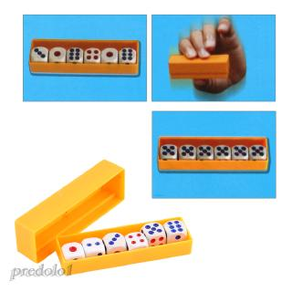 Dice Box – Magic Trick Toy Shake Rolls Exact Numbers Puzzles Kids Child Gift