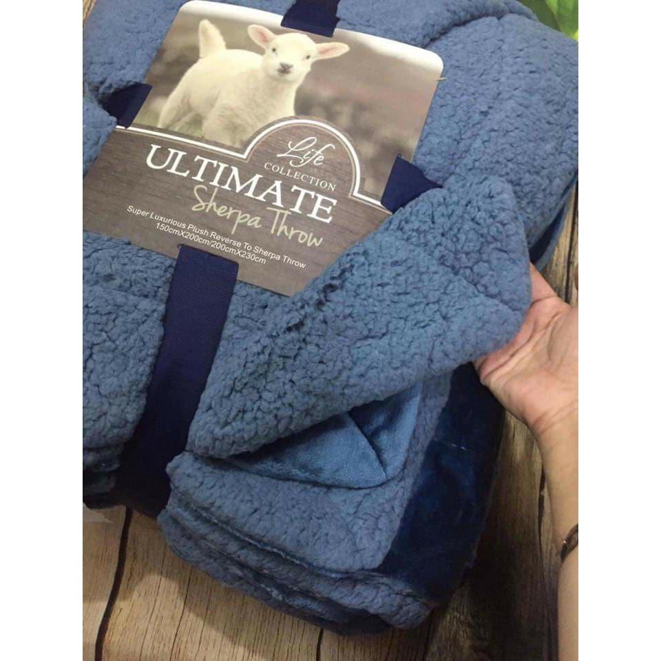Chăn lông cừu Ultimate loại 1 (2m x 2m3) - 3504717 , 735138840 , 322_735138840 , 495000 , Chan-long-cuu-Ultimate-loai-1-2m-x-2m3-322_735138840 , shopee.vn , Chăn lông cừu Ultimate loại 1 (2m x 2m3)