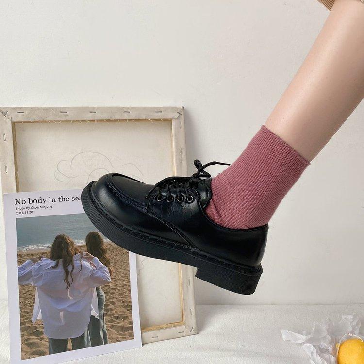 Giày Buộc Dây Thời Trang Cho Nữ