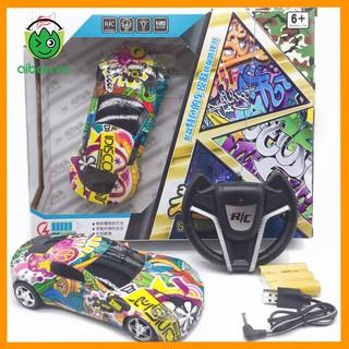Xe RC Điều Khiển Vô Lăng 4 Chiều Graffity Pin + Sạc (XDK6701)