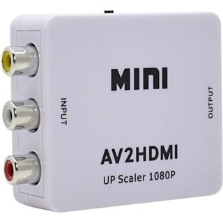 [Mã ELFLASH5 giảm 20K đơn 50K] Hộp chuyển Mini AV ra HDMI, AV to HDMI, AV sang HDMI-FullHD 1080p/ 720.