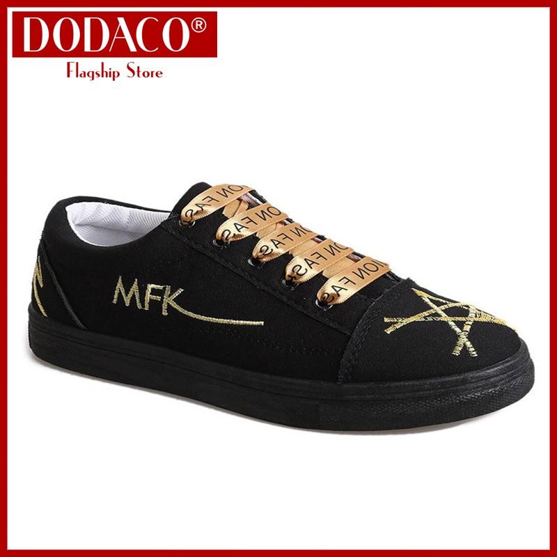 [Freeship] - Giày sneaker nữ vải thêu họa tiết thời trang DODACO LVS0010 - 161 (Vàng Đen Trắng) - 2675402 , 1183706948 , 322_1183706948 , 192857 , Freeship-Giay-sneaker-nu-vai-theu-hoa-tiet-thoi-trang-DODACO-LVS0010-161-Vang-Den-Trang-322_1183706948 , shopee.vn , [Freeship] - Giày sneaker nữ vải thêu họa tiết thời trang DODACO LVS0010 - 161 (Vàng