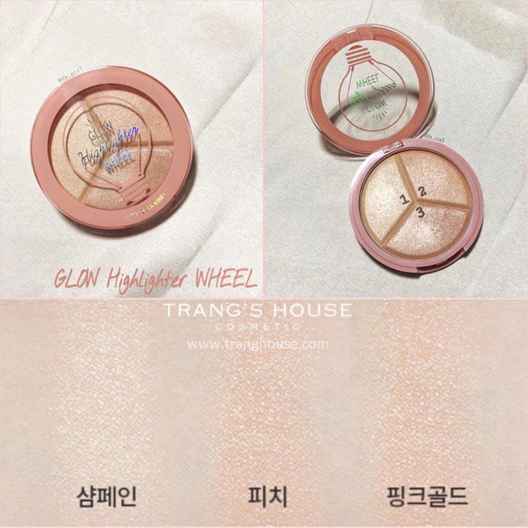 Phấn Bắt Sáng Etude House Glow Highlighter Wheel