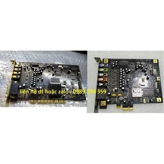 Card âm thanh 7.1 cao cấp mạ vàng CREATIVE sb0460 sb0880 hỗ trợ win10 mới nhất
