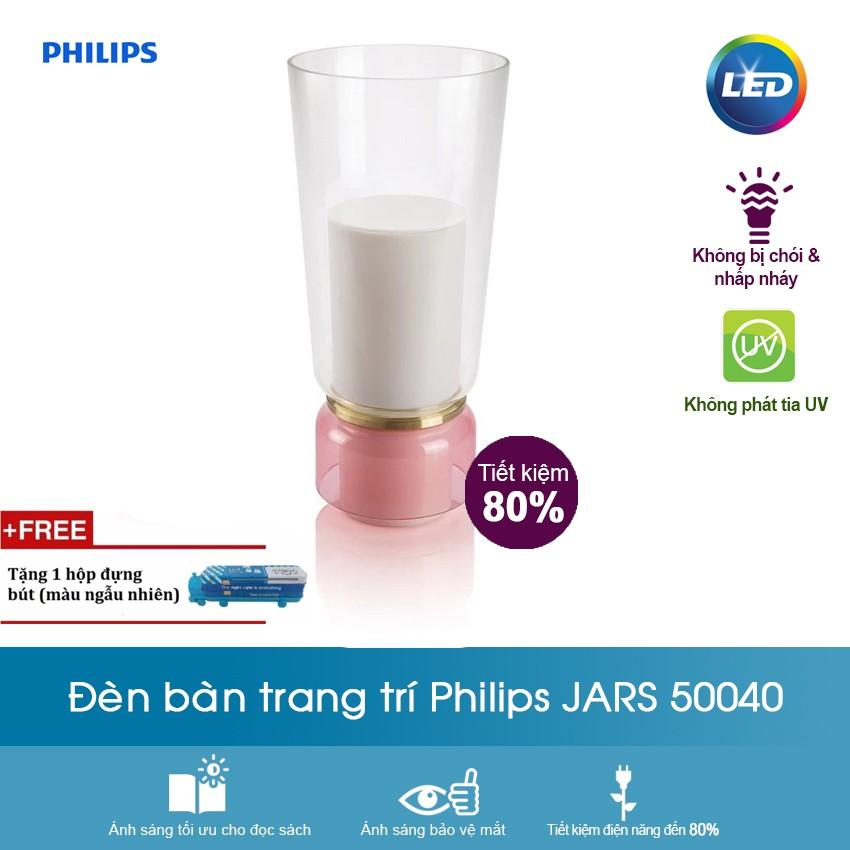 Đèn bàn trang trí Philips Jars 1x15W 230V