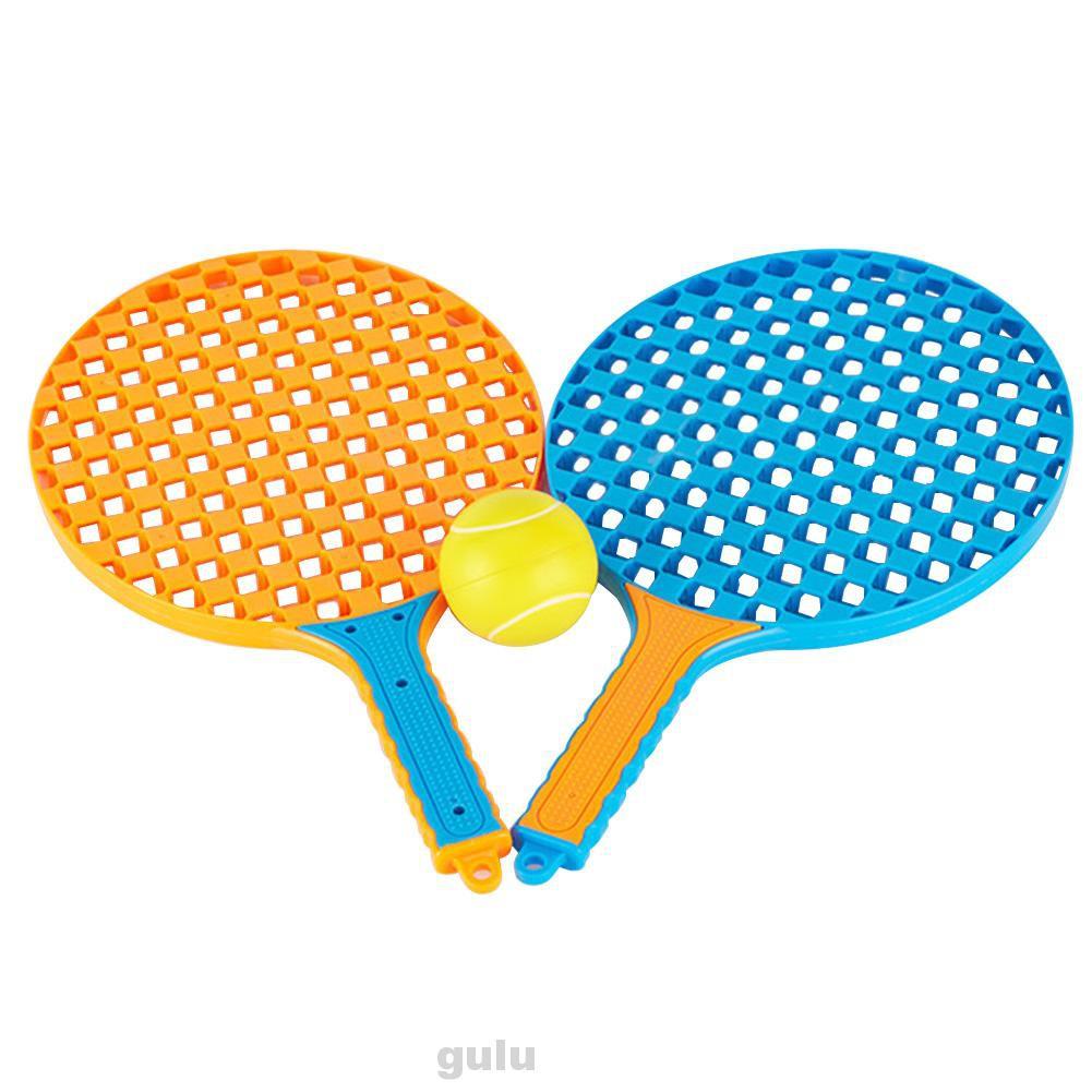 Bộ Dụng Cụ Luyện Tập Đánh Cầu Lông / Tennis Bằng Abs Nhỏ Gọn Tiện Dụng Cho Gia Đình