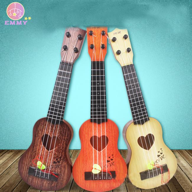 4 Strings Children Simulation Playable Ukulele Guitar Educational Music Instruments Toy Gifts for Beginners