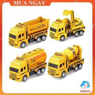 Đồ chơi mô hình xe xúc màu vàng siêu đẹp dành cho bé XMH16 thumbnail