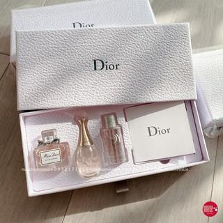 Set Nước Hoa Mini Dior Miss Dior - Dior J adore - Dior Joy 5ml FullBox thumbnail
