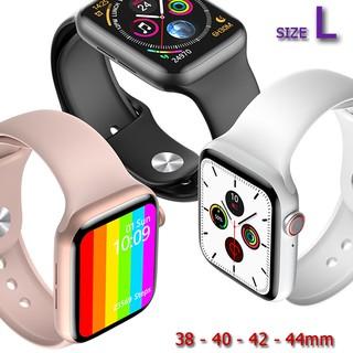 [SIZE L] [ĐỦ MÀU SẮC] Dây đồng hồ Apple Watch - Chất liệu cao su - Màu sắc trẻ trung - Size 38 - 40 - 42 - 44mm
