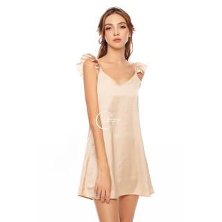 Dreamy VS14 Váy Ngủ Dáng Suông Phối Tay Cánh Tiên Gợi Cảm thumbnail