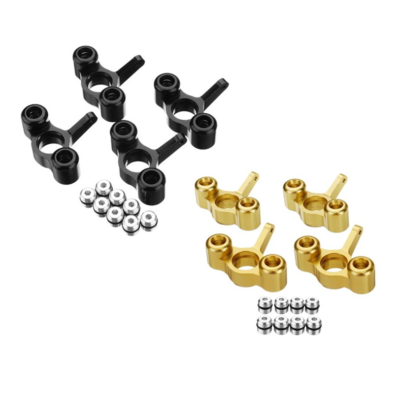 ☆In Stock 4Pcs Metal Steering Knuckles Hub Carrier Block EA1003 for JLB Racing CHEETAH 1/10 RC Car Monster Truck Upgrade...