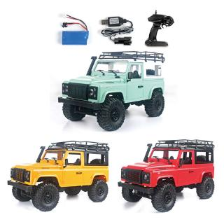 youn* 1/12 RC Rock Crawler D90 2.4G 4WD Car Remote Control Truck Toys Defender