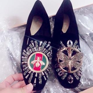 Giày lười đính đá siêu đẹp