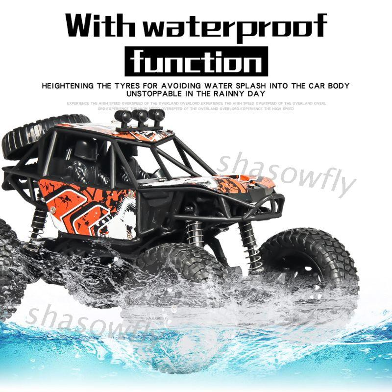SHAS 1/20 Scale 2.4G 4WD Rock Crawler Off-road Vehicle RC Car Toy Truck Gifts