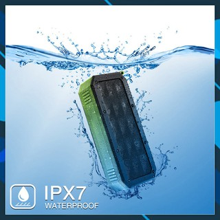 Loa bluetooth đọc thẻ SD TF, Jắc 3,5mm AUX cổng kết nối máy tính, chuẩn chống nước IPX7, model W01  (vthm9)