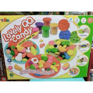 [5806-A] Bộ đồ chơi đất nặn làm kẹo hình thù dễ thương