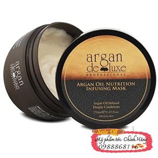 Hấp dầu Argan deluxe phục hồi tóc hư tổn 250ml thumbnail