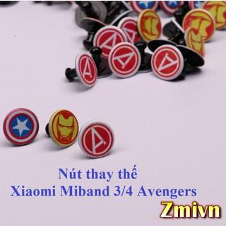 [Avengers] Nút thay thế Miband 3/4 Avengers