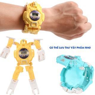 Đồng Hồ Điện Tử Biến Hình Robot Cho Bé , Đồ Chơi Cho trẻ thumbnail