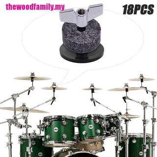 Bộ Phụ Kiện Gồm Trống Cymbal + Tay Áo + Đai Ốc + Vòng Đệm Cho Hi-hat
