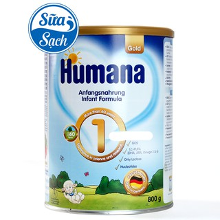 Sữa Humana Gold 1 800gr Date 03 2022