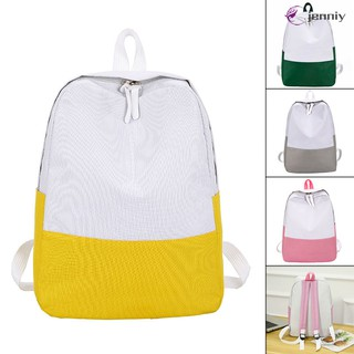 ✨JNY✨ Women Lady Girl Backpack Canvas School Student Shoulder Bag Fashion For Books Laptop