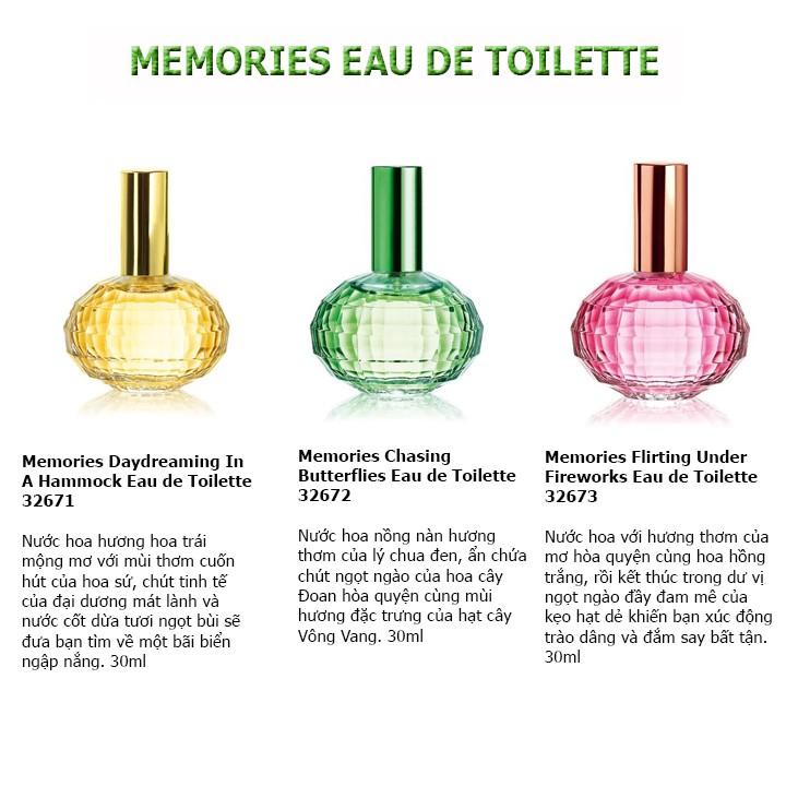 Nước hoa nữ Oriflame Memories Chasing Butterflies - Oriflame 32671 / 32672 / 32673