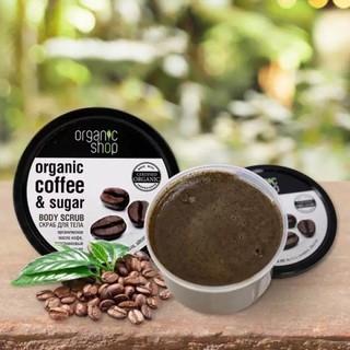Hình ảnh Tẩy Tế Bào Chết Toàn Thân Organic Shop Organic Coffee & Sugar Body Scrub 250ml (Hương Cafe)-8