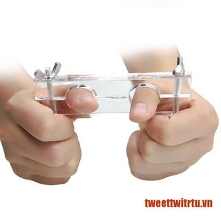 【TrTu】Escape Finger the thumb to lock the finger lock Magic tricks close up ma