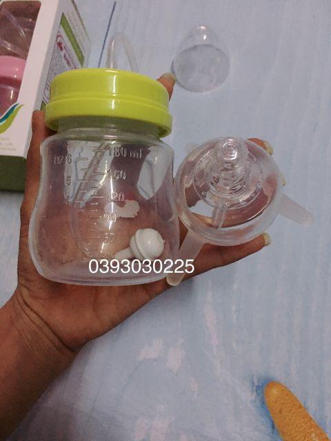 Bình sữa rảnh tay Baby 180ml