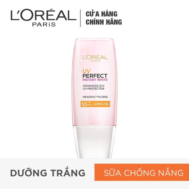 Kem chống nắng bảo vệ và dưỡng da L'Oreal Paris UV Perfect SPF50+ PA++++ 30ml